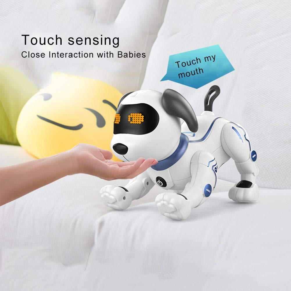Intelligent Robot Chien Nouvelle T/él/écommande Programmation Interactive Enfants Adulte Jouets Cadeau danniversaire Cadeau De No/ël