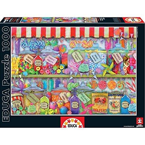 Candy Shop  Educa 1000 Piece Puzzle by Educa