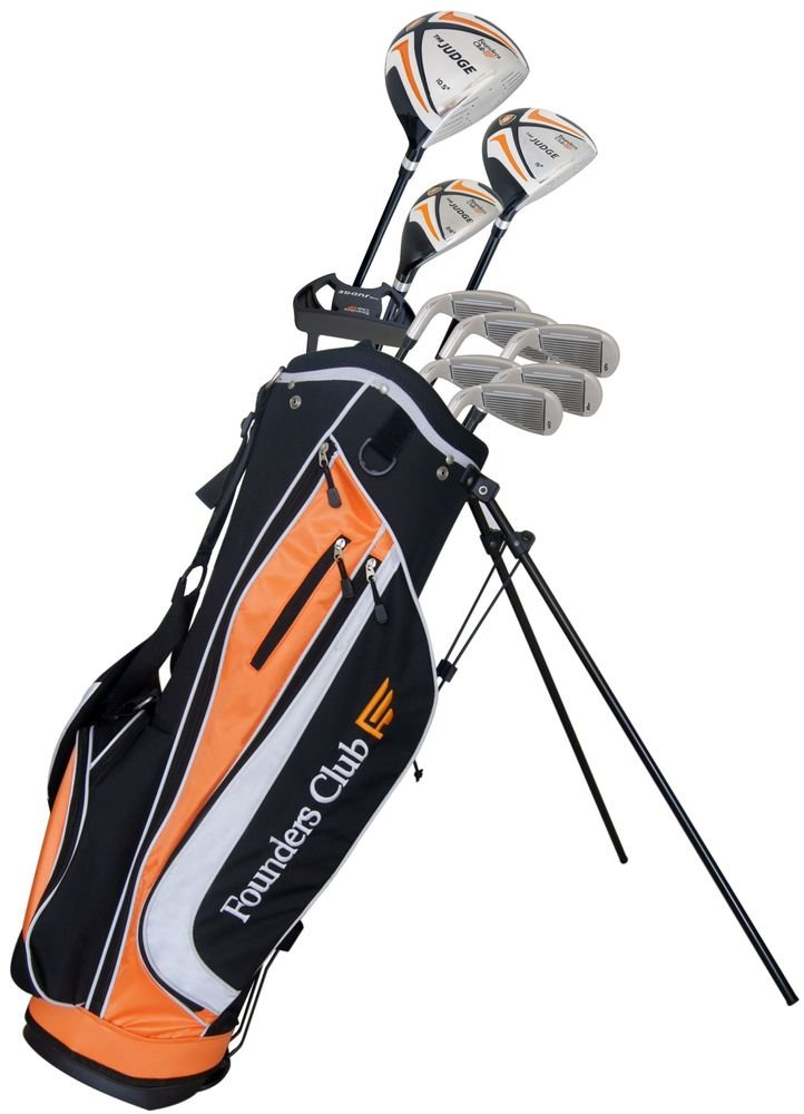 Amazoncom The Judge Founders Club Complete Golf Set With Graphite - Acura golf clubs