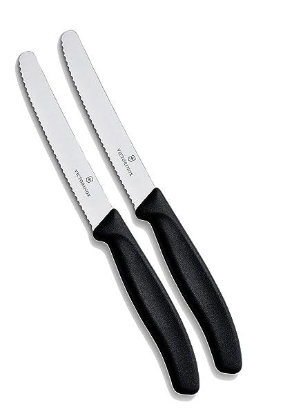 Victorinox Cuchillo de Cocina Juego de 2 Unidades (11 cm ...