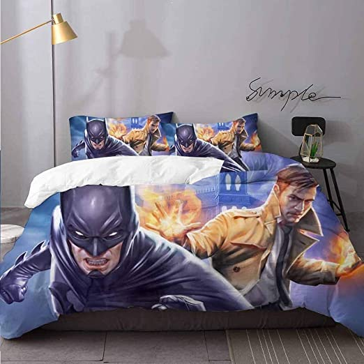 Justice League bed pillow
