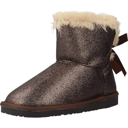 6ffaf8dd6bb Botas NIÑA CONGUITOS Glitter Lazo - 32, Plomo: Amazon.es: Zapatos y  complementos
