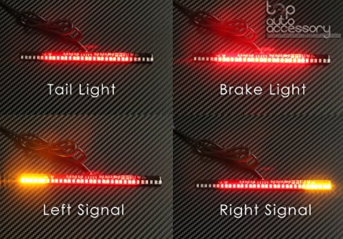 33-SMD LED Bar Brake Tail Light & Left/Right Turn Signal Lamp for Harley-Davidson Motorcycle