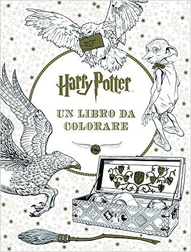 Amazon It Harry Potter Un Libro Da Colorare Ediz Illustrata Aa