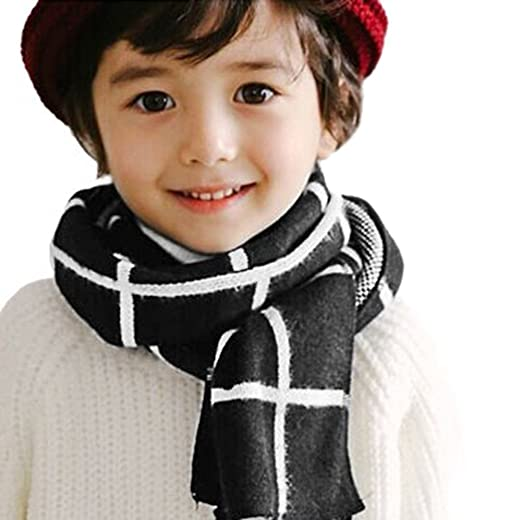 Girl's Scarves Classic Winter Children Scarves Solid Colors Soft Kids Girls Boys Baby Linen Scarf Warm Shawl Neck Scarves Clients First