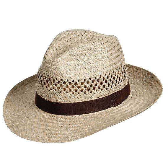 WEROR - Cappello Fedora - Uomo  Amazon.it  Abbigliamento 0780675fd7ca