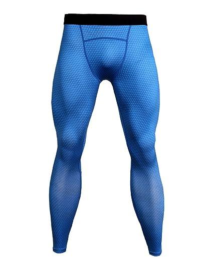 Hombre Corriendo Pantalones Deportivos De Los Hombres Compresión Ropa De Secado Rápido Respirable y5Uqv49