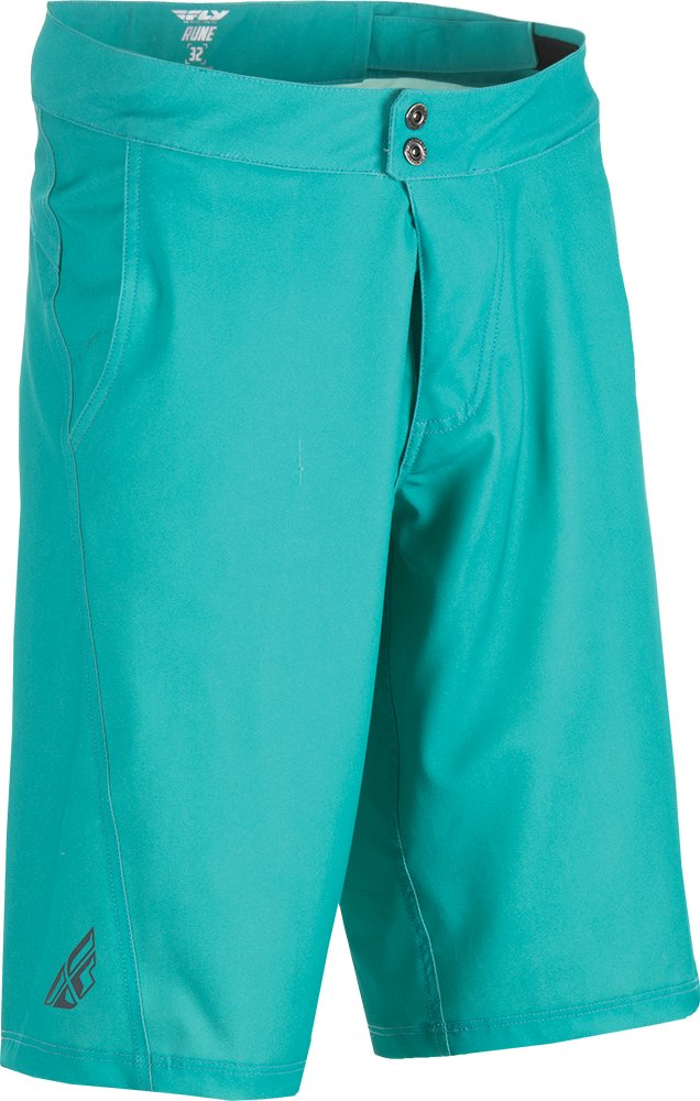 Fly Racing Unisex-Adult Rune Shorts (Teal, Size 34)
