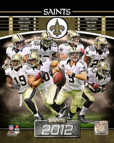 New Orleans Saints 2012 NFL Team Composite Photo (Nfl Team Photo)
