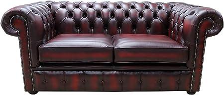 Divani In Pelle Stile Classico.Designer Sofas4u Chesterfield Divano Classico A 2 Posti