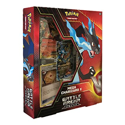 Pokemon TCG: Mega Charizard X Battle Arena Deck