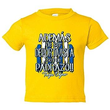 Camiseta niño además de ser Deportivista soy un padrazo La ...