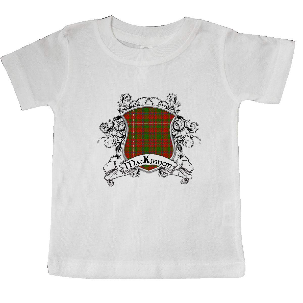 inktastic MacKinnon Tartan Shield Baby T-Shirt