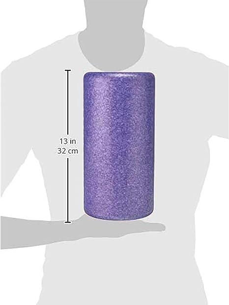 Amazon Basics - Rodillo redondo de espuma de alta densidad