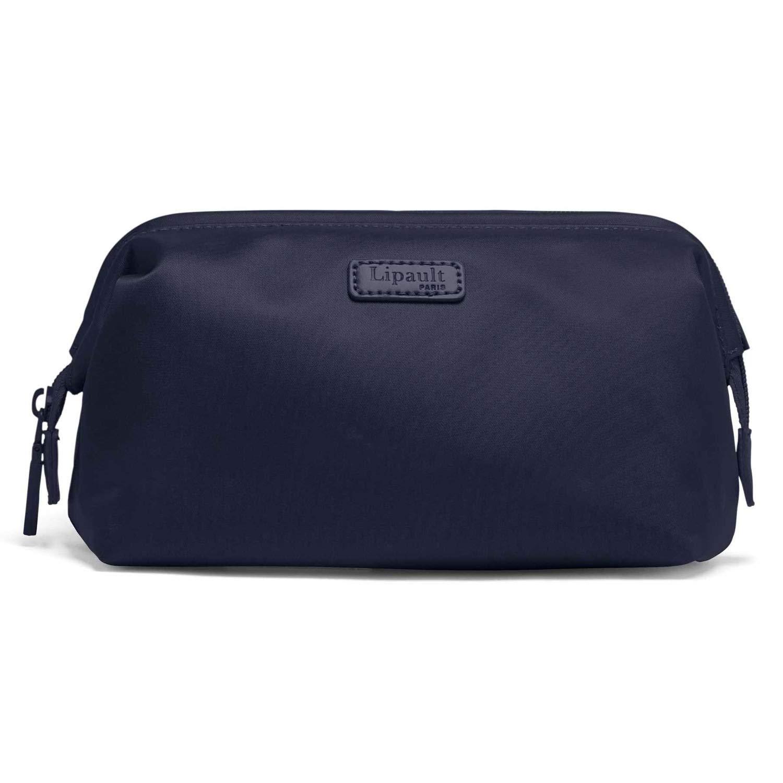 Lipault – Plume Accessories Toiletry Kit – Medium Compact Travel Organizer Bag for Women – Navy