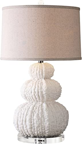 Uttermost 26671 Fontanne Shell Ivory Table Lamp