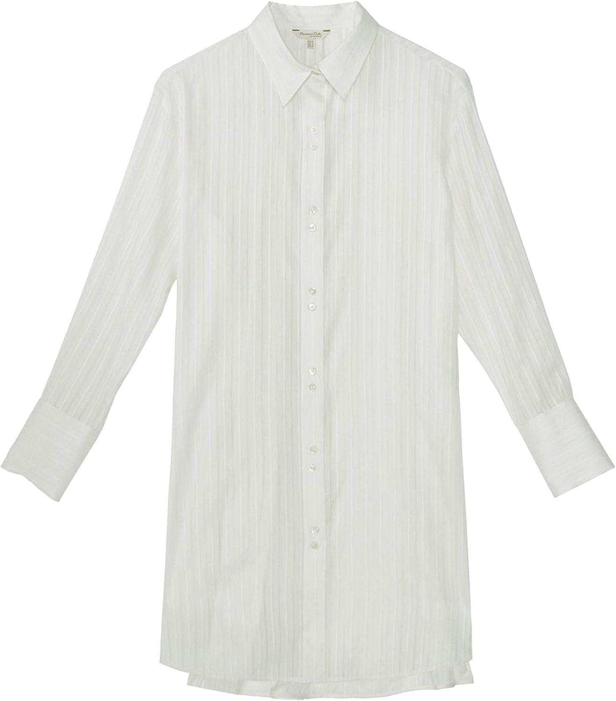 MASSIMO DUTTI 5128/628/712 - Blusa Larga de algodón para ...