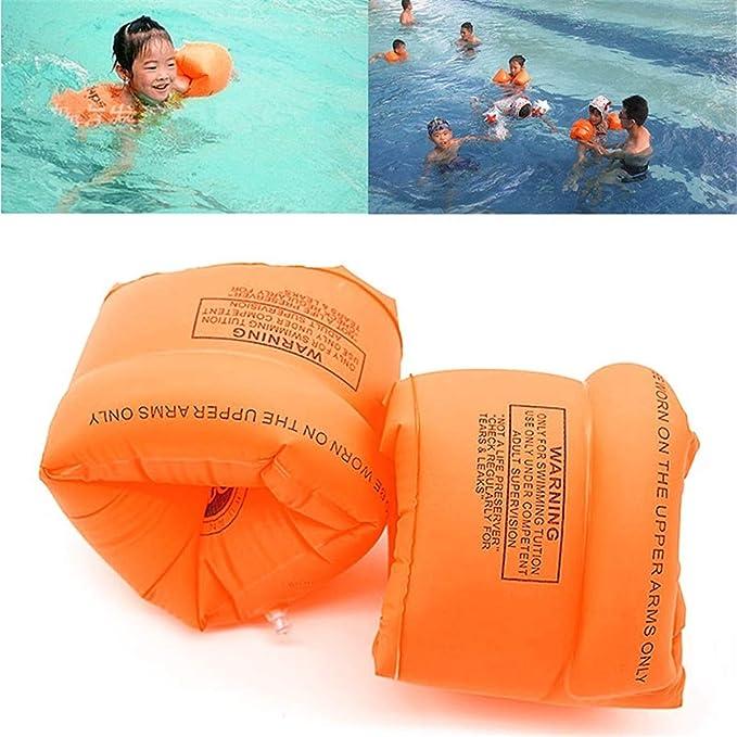 LVLONG (2 Paquetes) Asistencia de natación Inflable Piscina ...