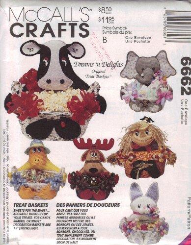 (McCall's Crafts Treat Baskets Pattern)