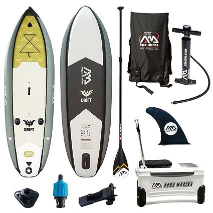 Amazon.com: Aqua marina Drift – pesca Paddle Surf inflable ...