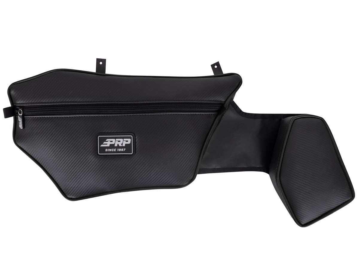 PRP Textron Wildcat XX Stock Door Bag Black Piping Pair E75-210