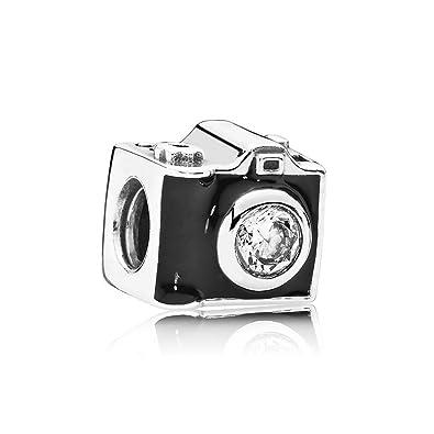 90d7672de Amazon.com: Pandora 791709CZ Sentimental Snapshots Charm: Jewelry