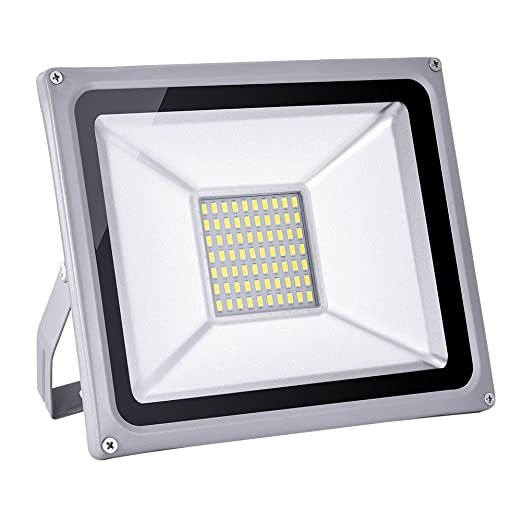 Foco proyector LED 50W para exteriores, 1000LM-14000LM, Blanco ...