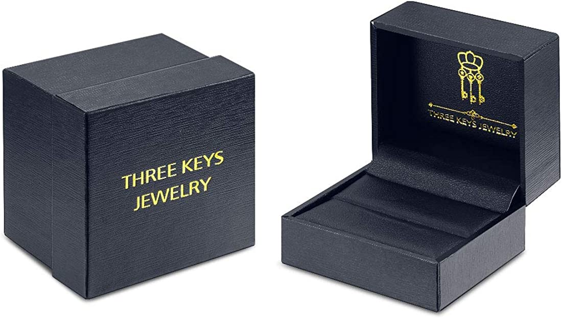 Three Keys Jewelry Bague de Mariage en tungst/ène plaqu/é Or Rose Poli 2 mm 4 mm 6 mm 8 mm 8 mm
