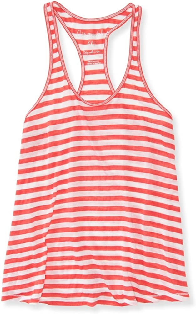 AEROPOSTALE Womens Sheer Striped Tank Top
