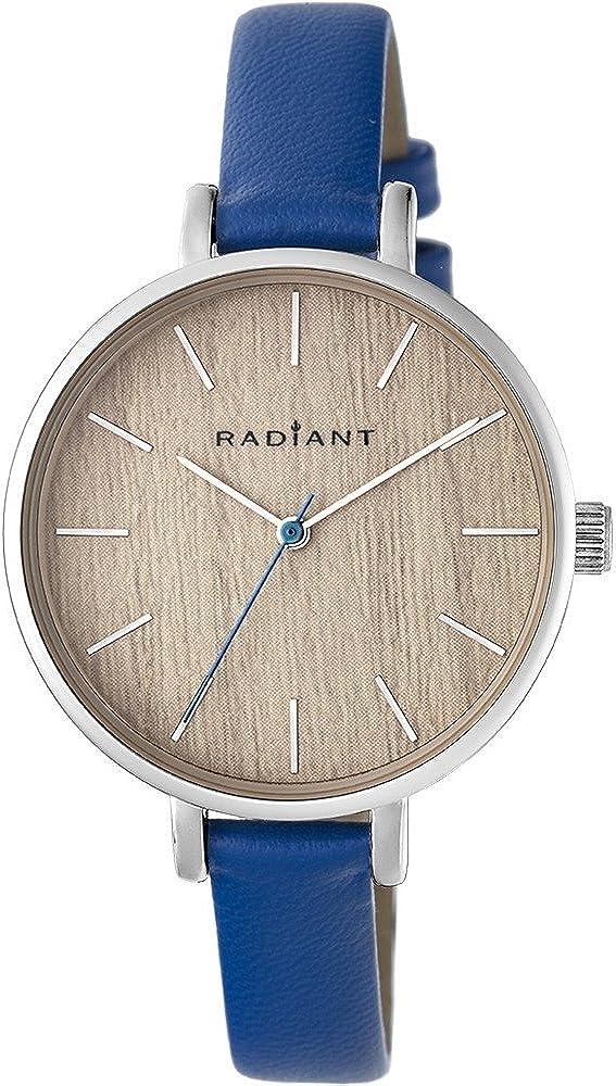 RADIANT Reloj Analógico para Mujer de Cuarzo con Correa en Piel RA430602