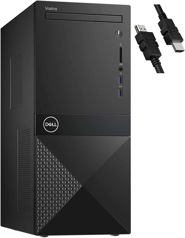 2020 Flagship Dell Vostro 3671 3000 Business Desktop Computer 9th Gen Intel Hexa-core i5-9400 (Beat i7-7700) 32GB RAM 1TB SSD HDMI DVDRW USB 3.0 Windows 10 Pro + iCarp HDMI Cable (Renewed)