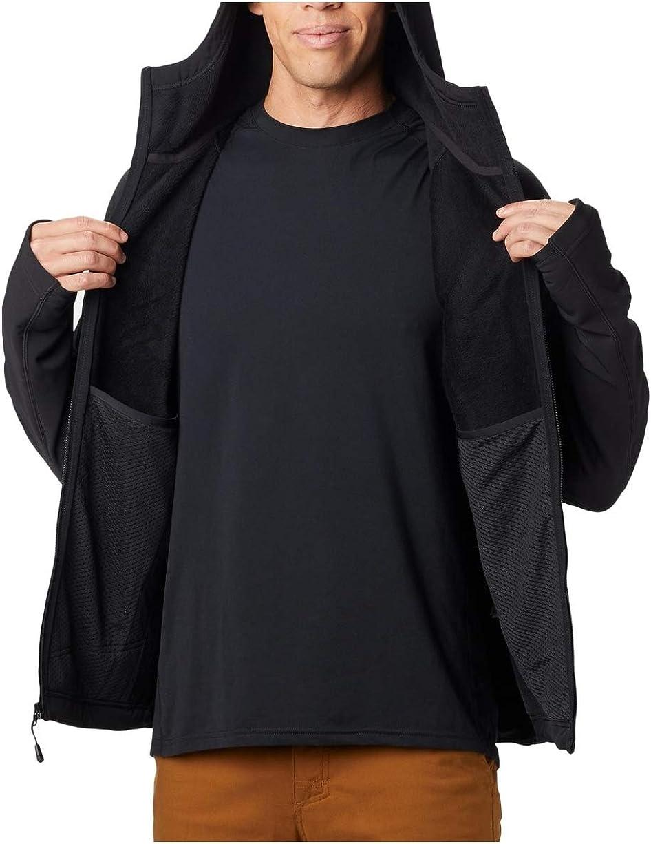 Mountain Hardwear Keele Kapuzenjacke Herren Black 2019 Funktionsjacke Black