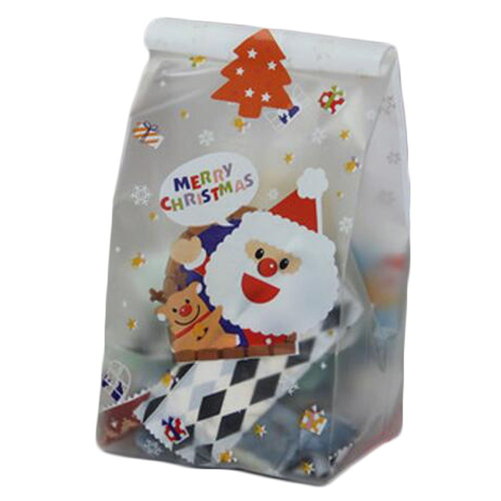 50 Pcs Christmas Cookie Making Supplies Wedding Biscuits Gift Bag Candy Bag -A3 George Jimmy