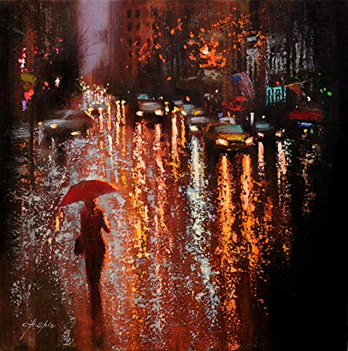 The Night Rain in Lexington Avenue