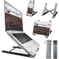 Homesuit Laptop Stand, Aluminum Computer Riser,9-Angles Adjustable Ventilated Notebook Stand Mount for Desk, Metal…