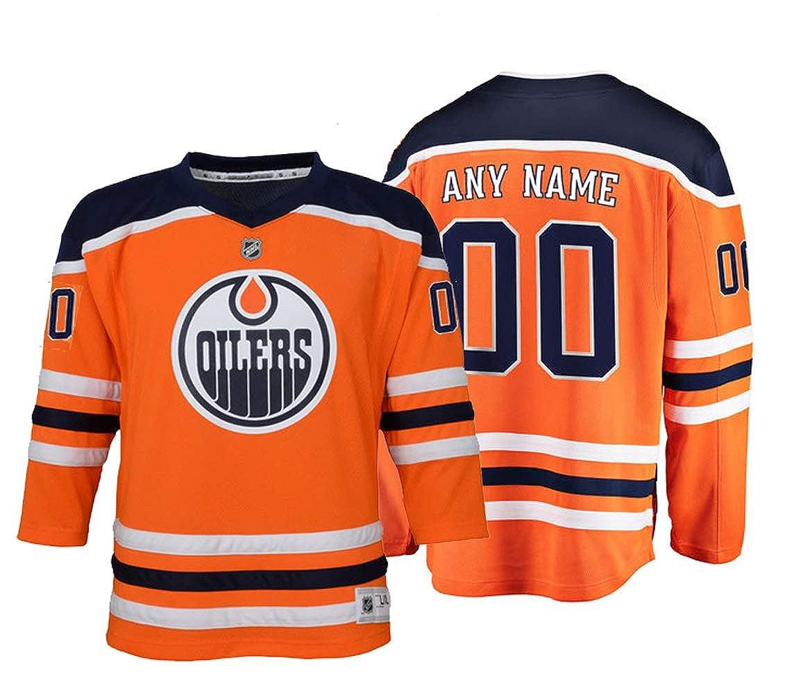 Custom Youth Edmonton Oilers Hockey Jersey