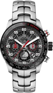997624ec06d Amazon.com: TAG Heuer Men's 'Carrera Senna' Swiss Automatic Titanium ...
