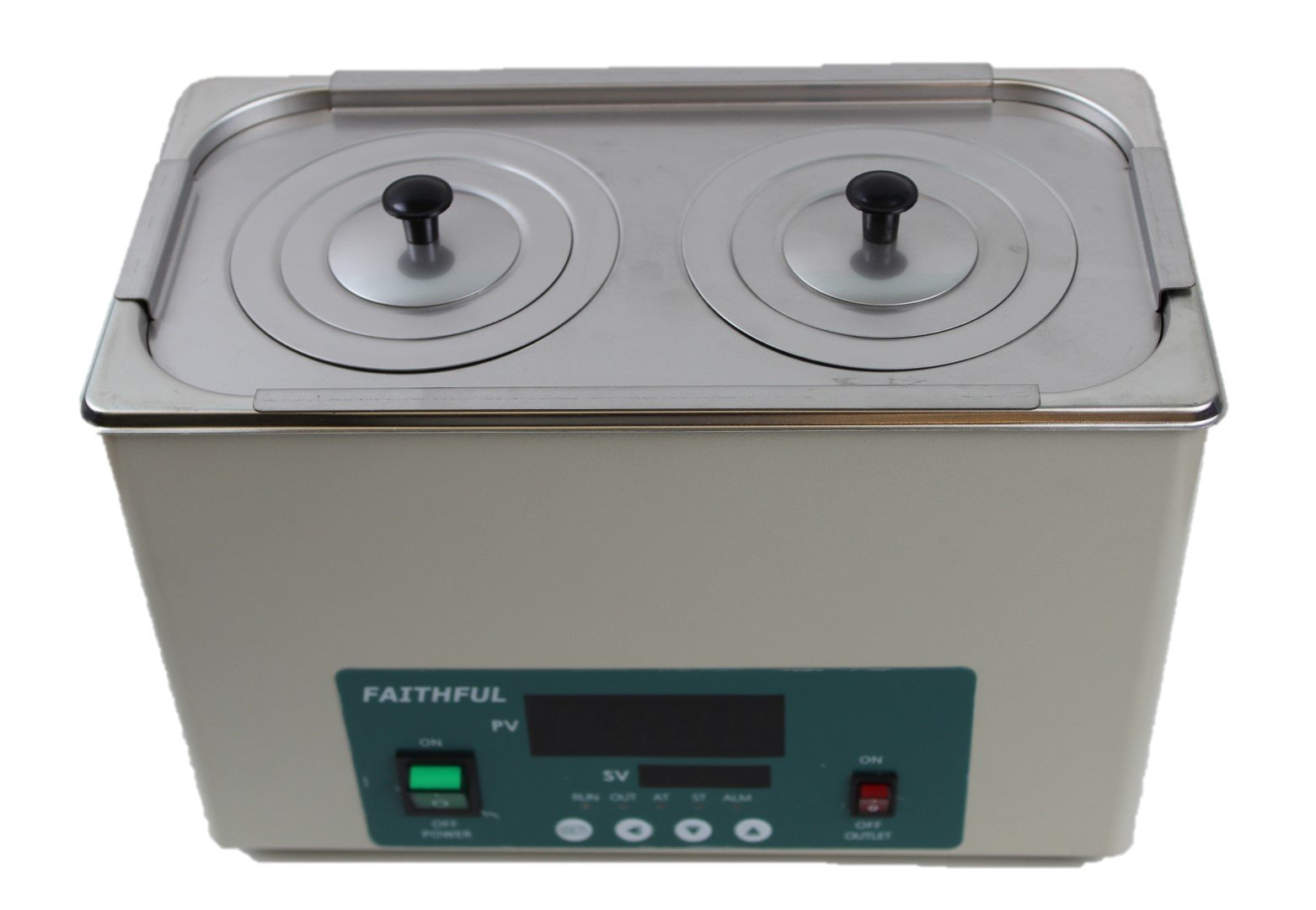 Faithful Digital Thermostatic Water Bath, 1 Chamber with 2 Openings, 110V