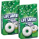 Gourmet Food : LifeSavers Hard Wint-O-Green, 50-Ounce Bags (Pack of 2)