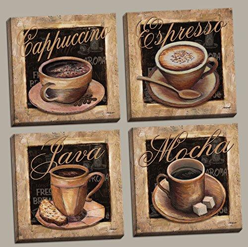 Classic Cappacino Espresso Decor Canvases product image