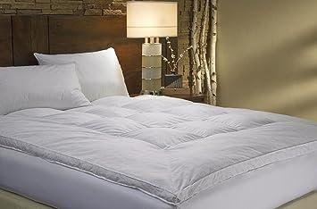 Marriott Hotel colchón sintético - 100% Bolas poliéster - hipoalergénico, Blanco, 180 x 200 cm: Amazon.es: Hogar