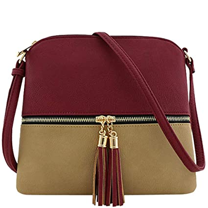 35d0c170ef37 Amazon.com: Bloomn handbag Color Bag Wallet Clutch Purse Medium ...