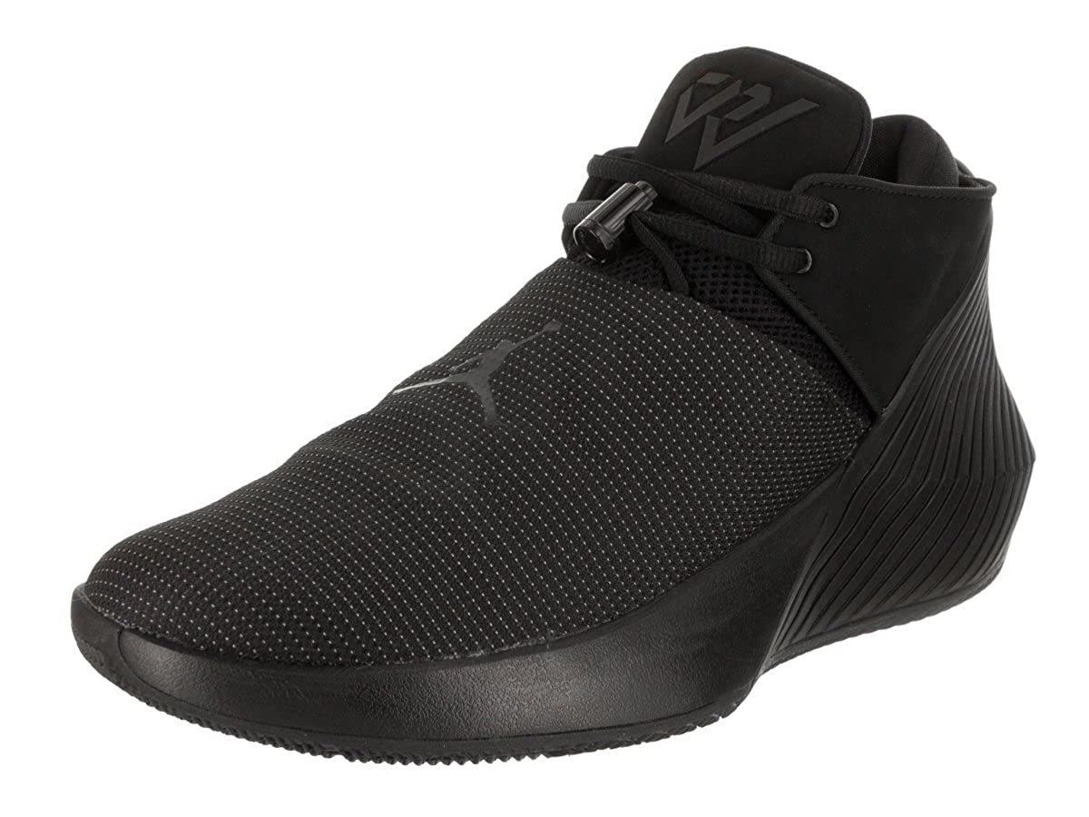 official photos 4e50d 2fce3 Amazon.com   Jordan Why Not Zero.1 Low Black Black-White   Basketball