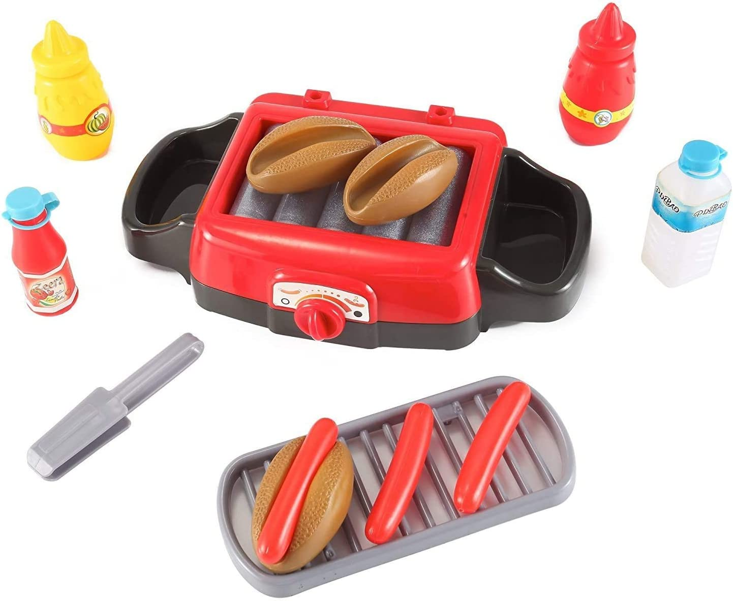 Exclusive CD Cyber Distributors Hot Dog Roller Grill Pretend Food Playset