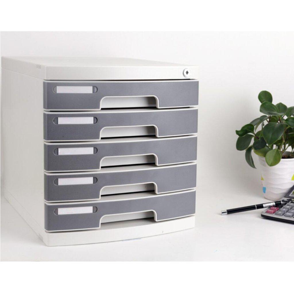 archivadores Archivador Escritorio de Oficina A4 Archivadores Cajón con Cerradura de plástico: Amazon.es: Electrónica