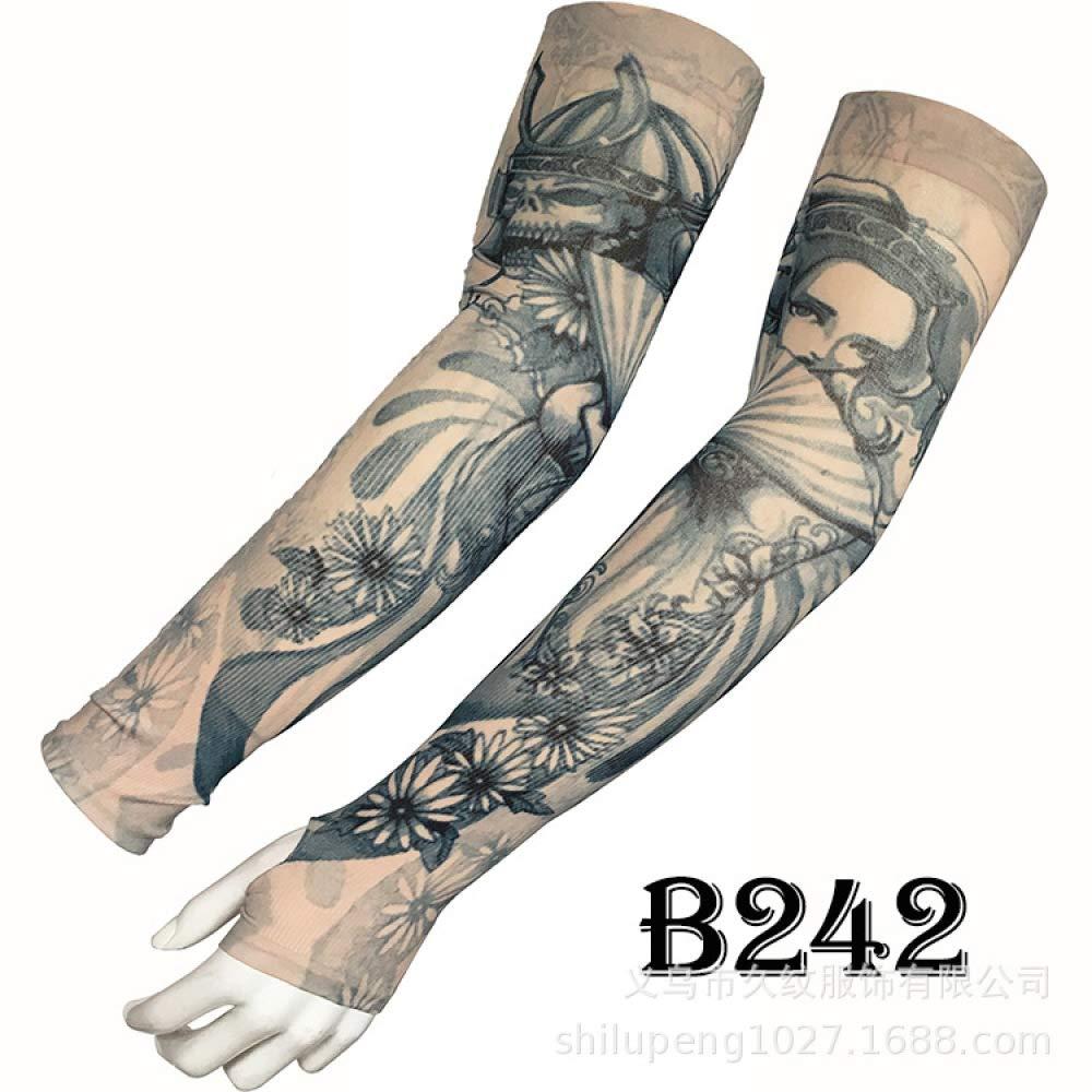 Tatuaje Mangas de hielo Mangas de seda de hielo Mangas de la banda ...