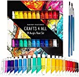 Crafts 4 All Acrylic Paint Set - 24 -Pack Painting