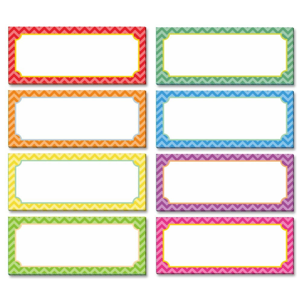 Magnetic dry erase Labels Name Plates white board 32 Labels 8 Colors,3.2'' x1.2'' by SpriteGru (Image #2)