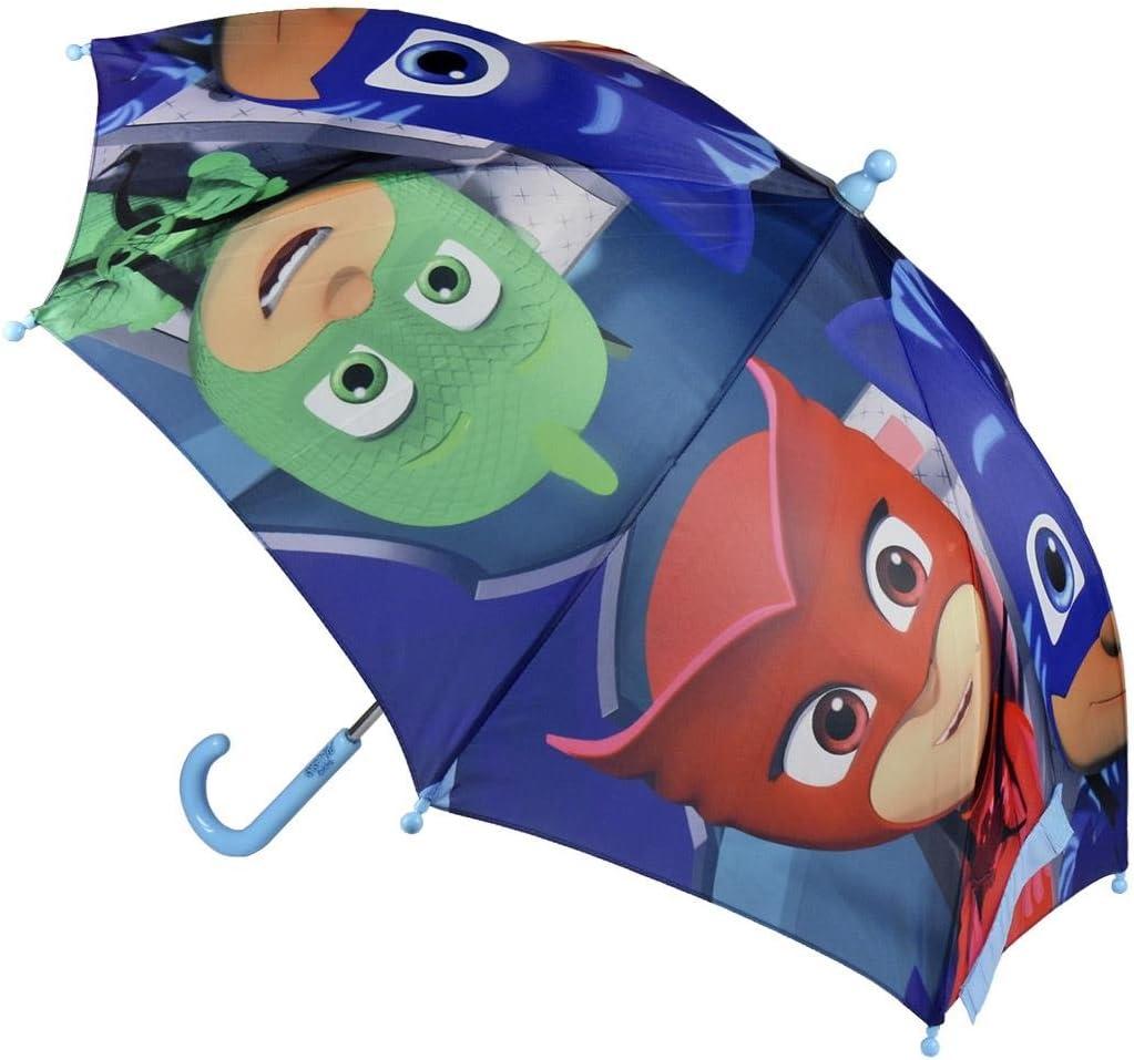Diam/ètre 70 Centim/ètres Bleu clair Gluglu Bibou Enfant PJ Masks Pyjamasques 2400-365 Parapluie Ouverture Manuelle Multicolore Yoyo