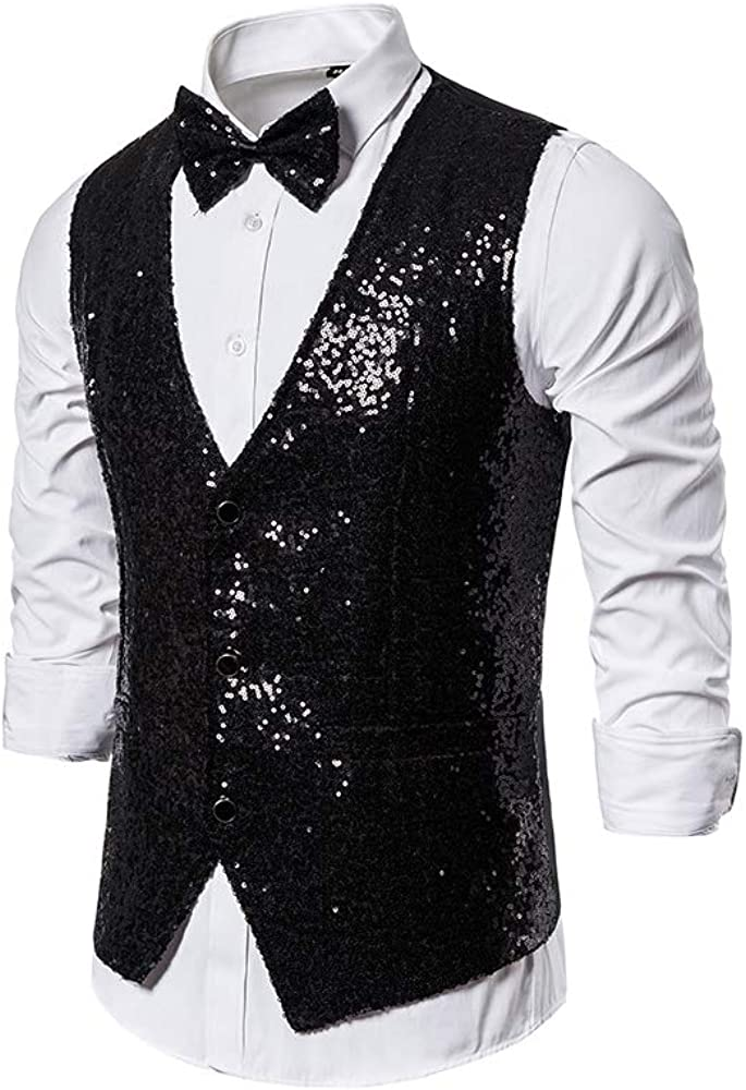 Catheive Men/'s Formal Solid Long Sleeve Button Down Tuxedo Dress Shirt